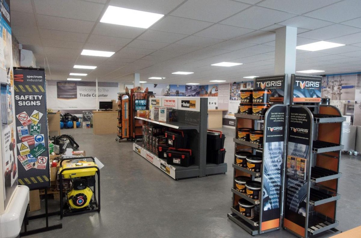wenlock way shop fitting electricals
